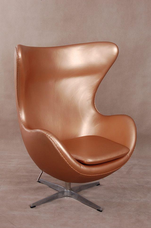Arne Jacobsen Egg Chair Tweedehands.Looks Like Copper Voor Meer Inspiratie Interieurstyling