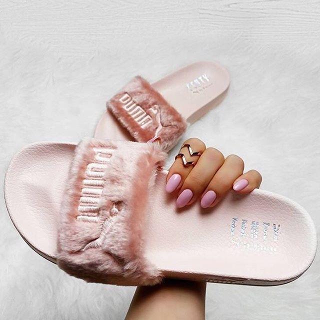 Leadcat X In SlideClaquette Rihanna Pink Puma Fenty Fur Pretty roxdBeWC