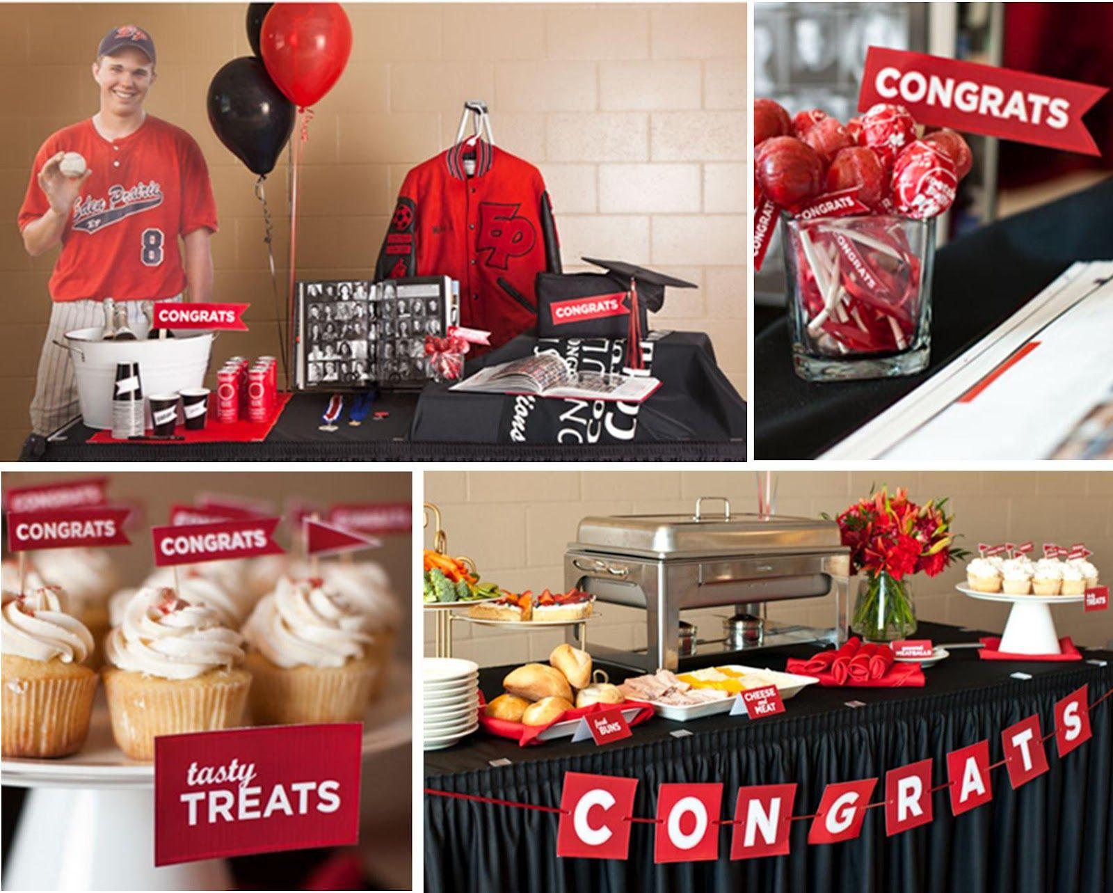 2014 graduation decorations - High School Graduation Party Ideas Classic Grad Latest High School Graduation Party Ideas 2014