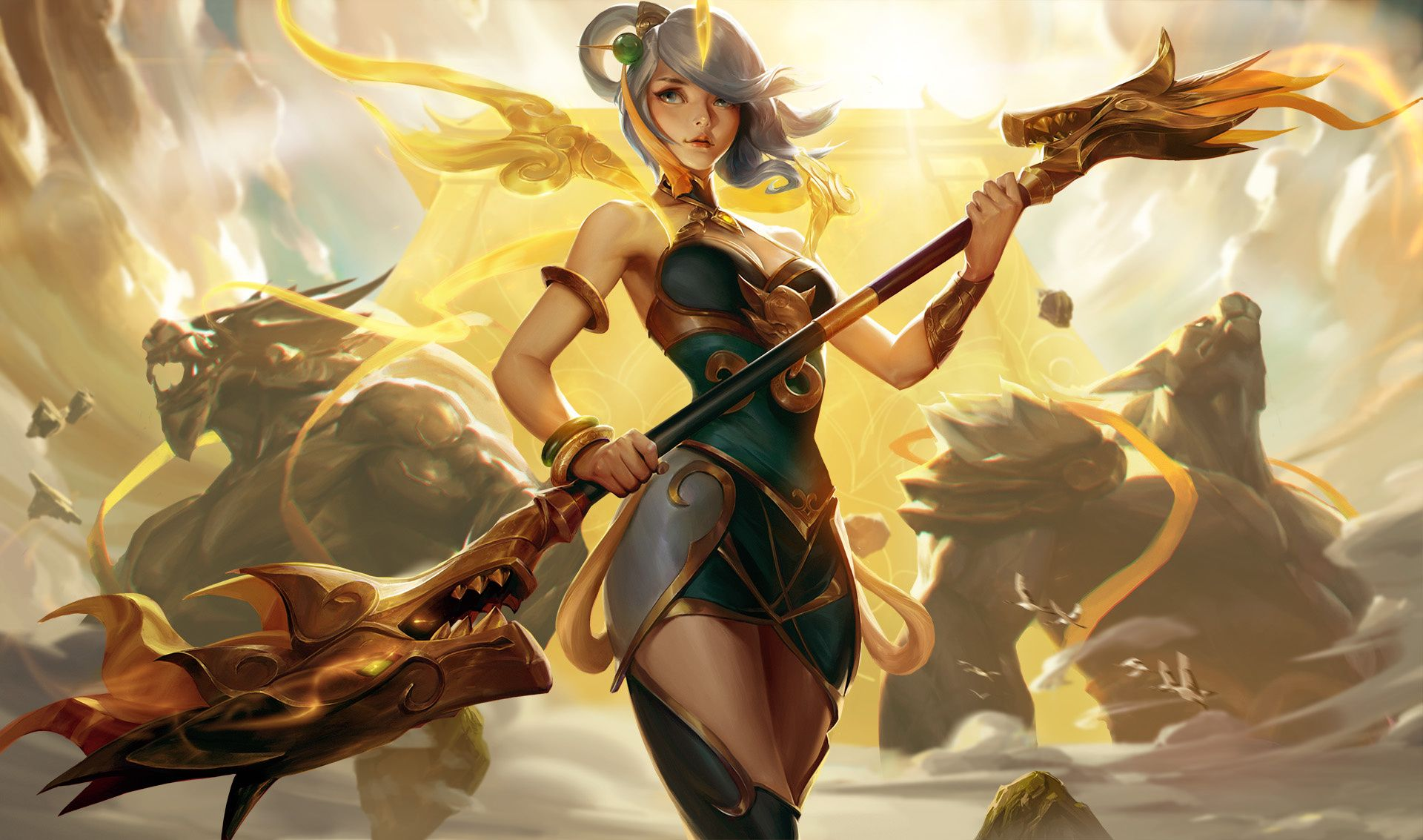 Lunar Empress Lux By Crow God Cg Computer Graphics Art In 2018 Mobile Legend Diamond 36 Cosplay League Of Legends Lol