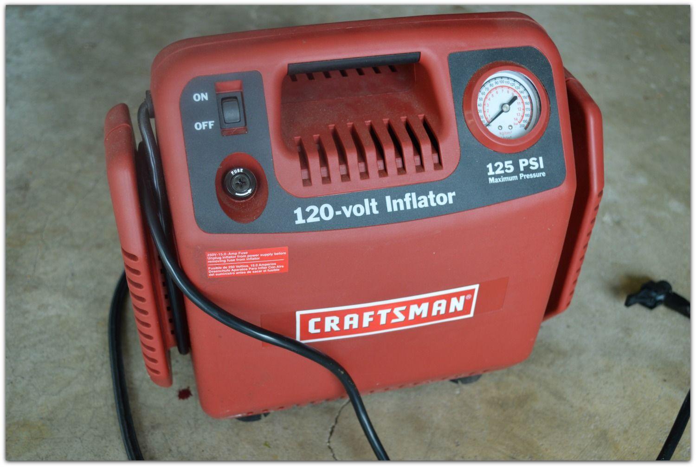 Craftsman 120v Inflator www