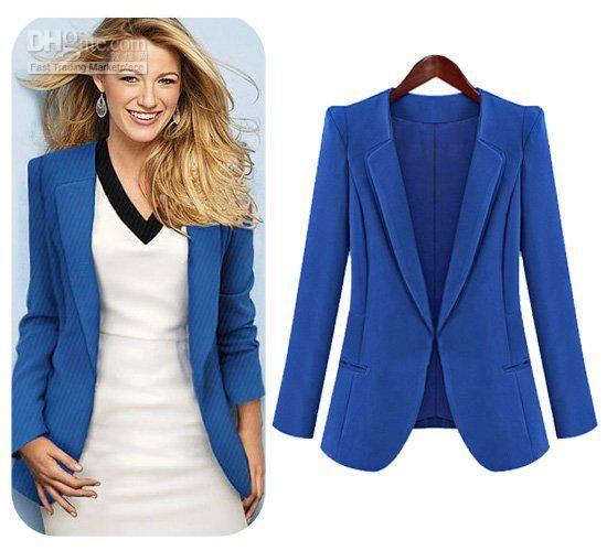 Wholesale Womens Dresses - Buy Blazer Women 2012 Fashion Autumn ...