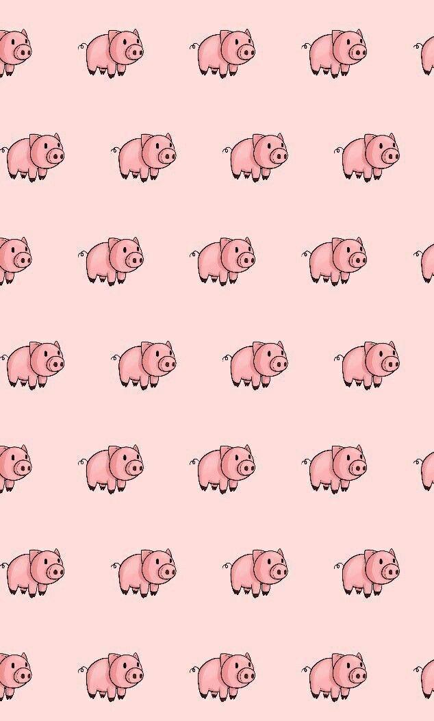 Pin By Schweinchenvont On Papel De Parede Pig Wallpaper Wallpaper Iphone Cute Emoji Wallpaper