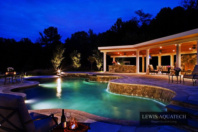 Bath Into 45 Amazing Swimming Pools That Can Beautify Your Outdoor ...