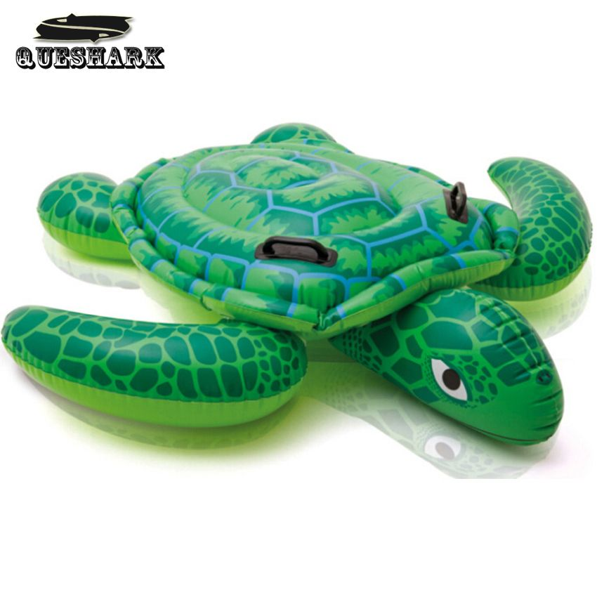 Summer Giant Swan Dolphin Shark Sea Turtle Crocodile 60 Inch 1.5m Inflatable  Ride On