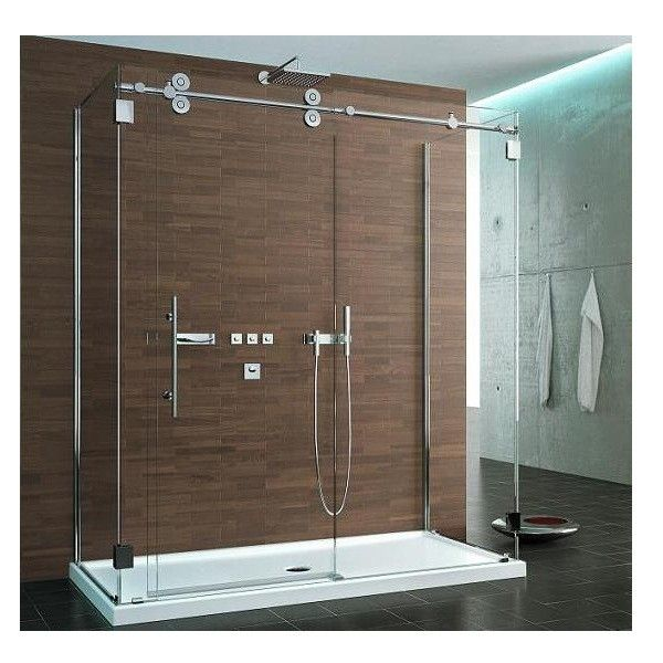 Glass showers sided symmetry kinetik hardware systems sided symmetry kinetik hardware systems sliding glass shower door planetlyrics Images
