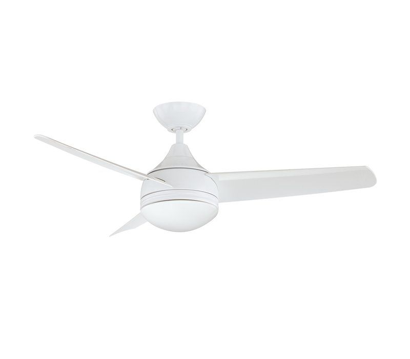 42 Rocket 3 Blade Ceiling Fan With Wall Remote Light Kit Included Ceiling Fan Ceiling Fan With Light Ceiling Fan With Remote
