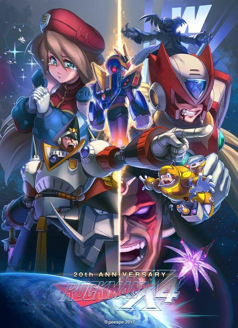 Megaman x4 mega man series pinterest videojuegos for Megaman 9 portada