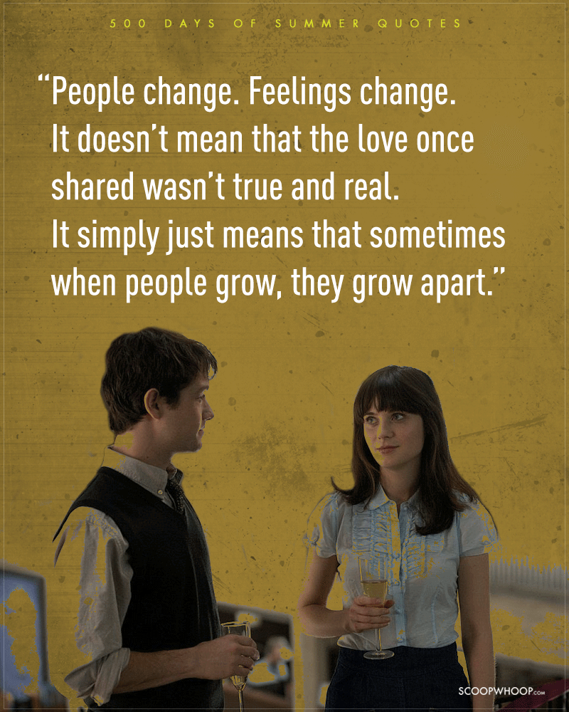 Not Everything Is Meant To Be Words 500 Days Of Summer Quotes