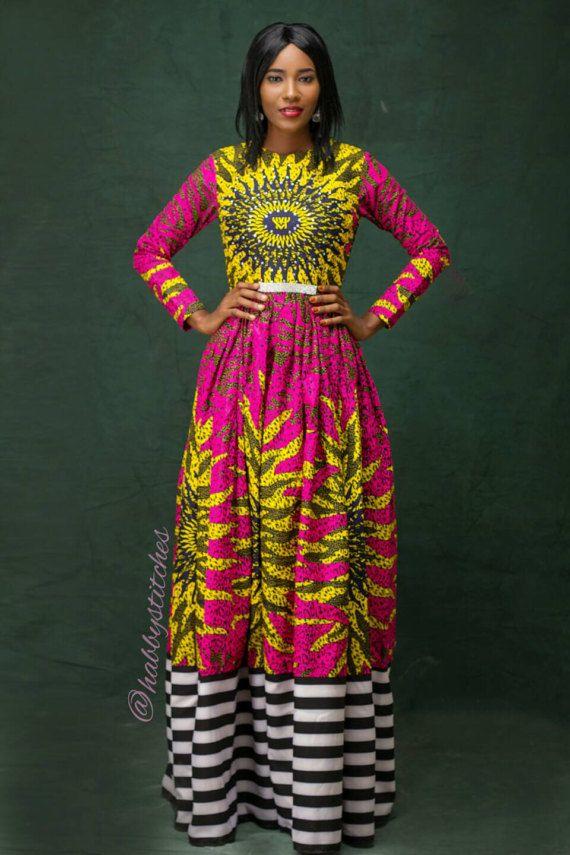 Onye Maxi Dress African Dress African Dresses For Prom Etsy African Maxi Dresses African Dress Ankara Maxi Dress