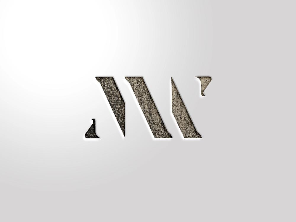 MW logo by Jack Balke on Dribbble in 2020 Font design
