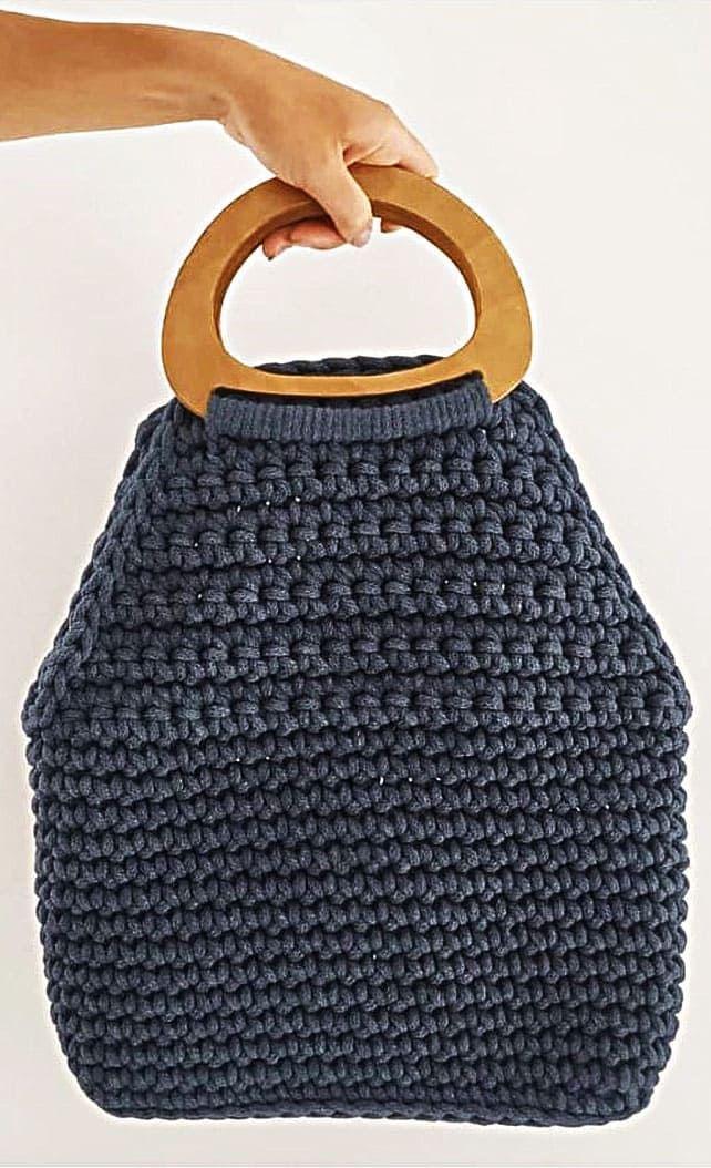 Crochet Bag Models Worth Seeing In August 2019 Photo Number Ad 1 Crochet Bag Models Worth Seeing In August 2019 Pho In 2020 Crochet Bag Wooden Bag Handmade Bags