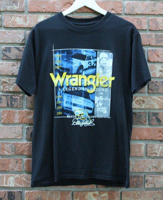Vintage Jeep Wrangler Racing T-Shirt Men s Medium  e53f49132444