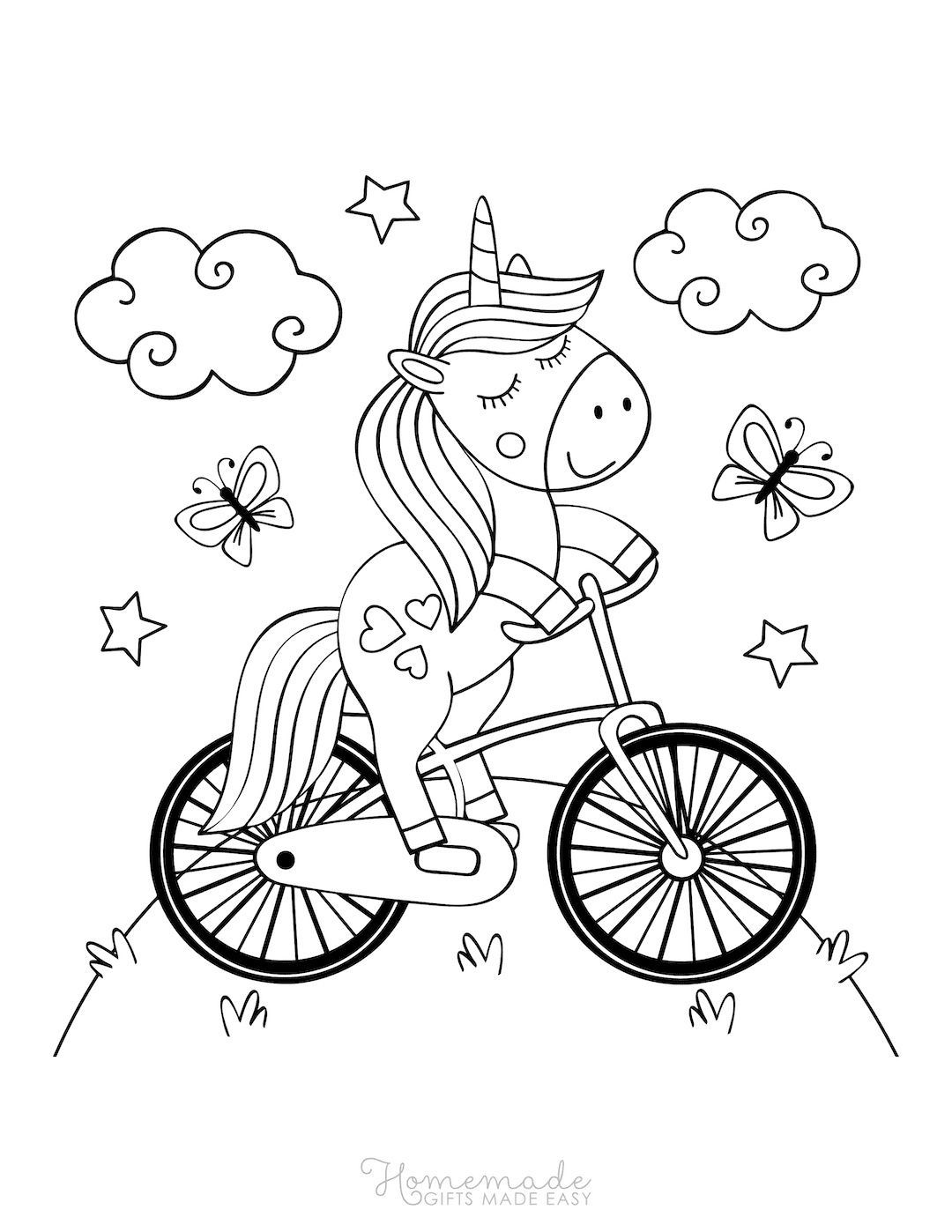 75 Magical Unicorn Coloring Pages For Kids Adults Free Printables Unicorn Coloring Pages Happy Birthday Coloring Pages Coloring Pages