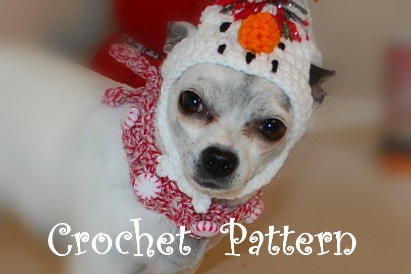 Peppermint Christmas Dog Collar Crochet Pattern Pinterest