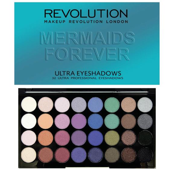 Makeup Revolution Mermaid Forever Palette Kosmetika