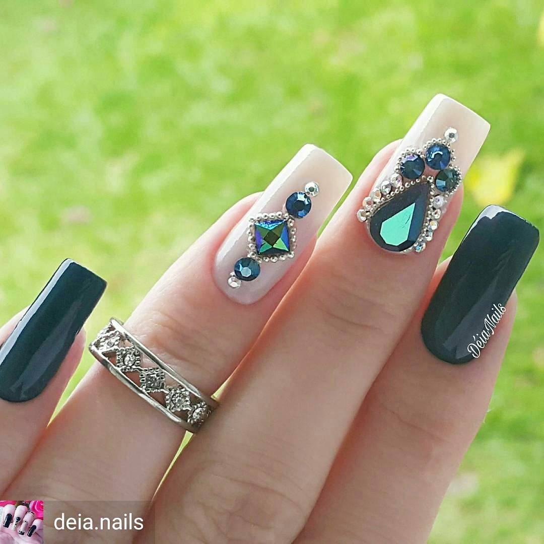 Pin De All I Want In Life En Nails Pinterest Uña Decoradas