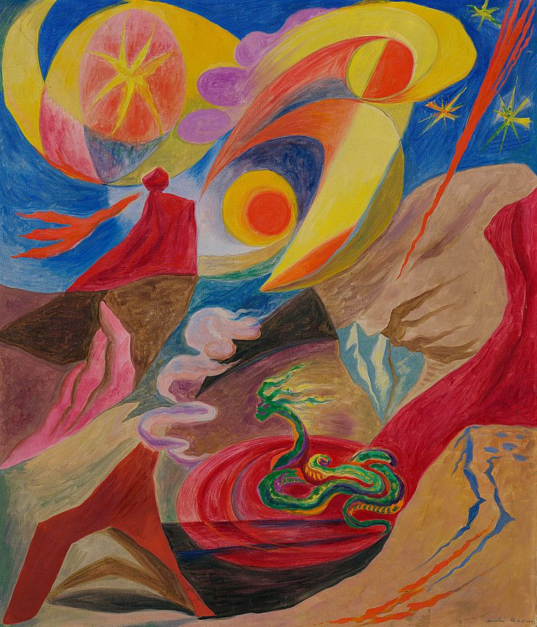 Collection Online André Masson. The Landscape of Wonders