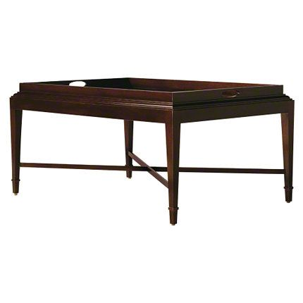 Baker Furniture : Tray Coffee Table   3451 : Tables : Barbara Barry