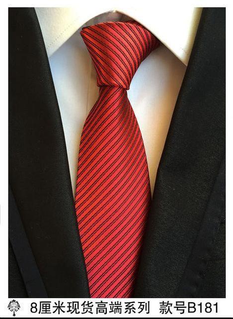 6f8eede310be (1 pieces/lot) 100% silk ties 8 cm corbata plaid mens tie striped ties for  men gravata pink necktie gold
