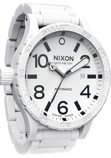 cea2cb5c820 White Nixon Watch....