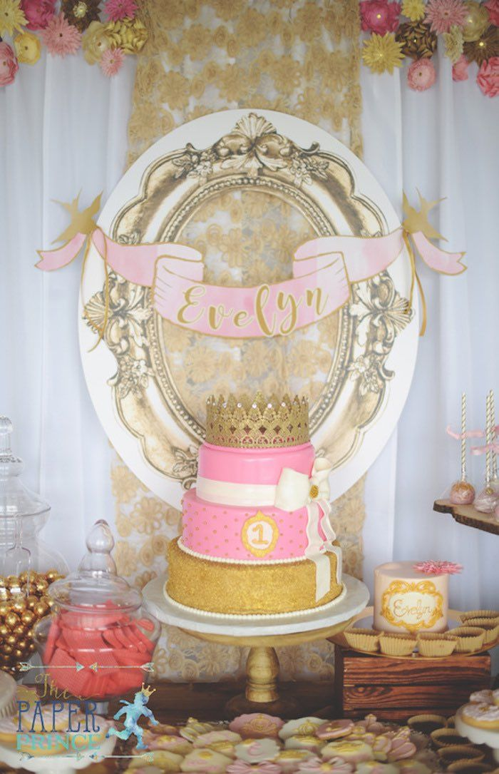 Once Upon A Time Birthday Party 1st Birthday Party Ideas