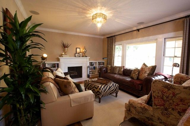African Safari Living Room | African Themed Living Rooms With Safari Style