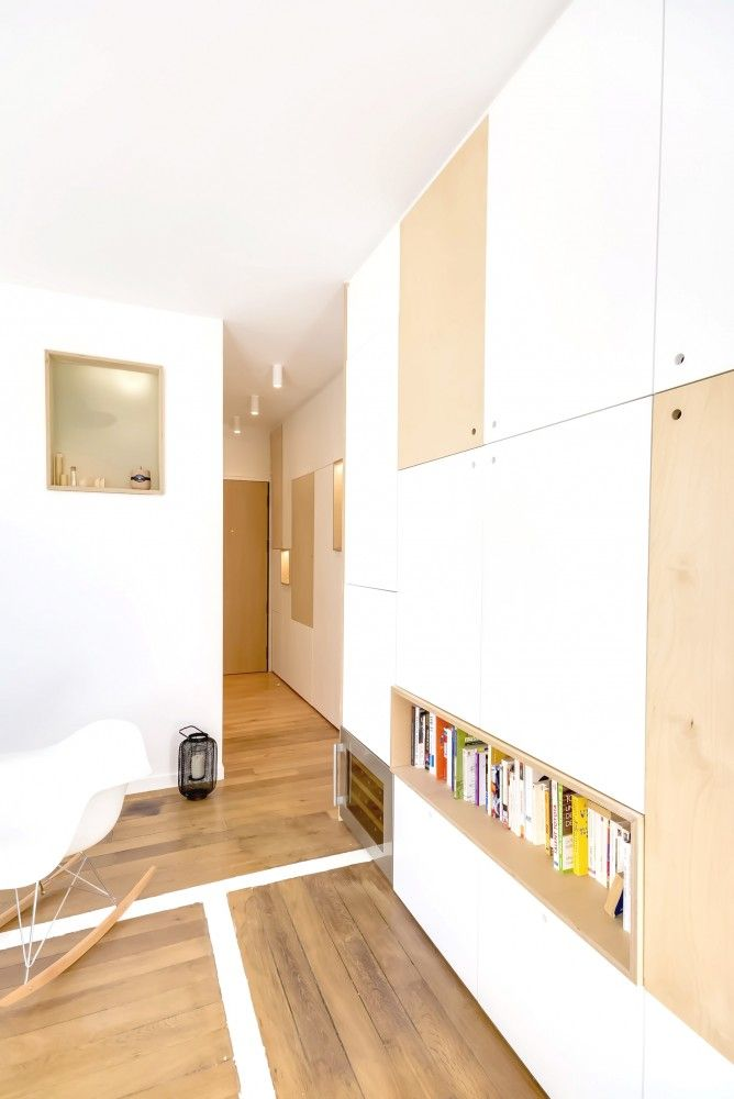 Gallery Of 30m2 Flat In Paris Richard Guilbault 12 Small Apartments Couples Apartment