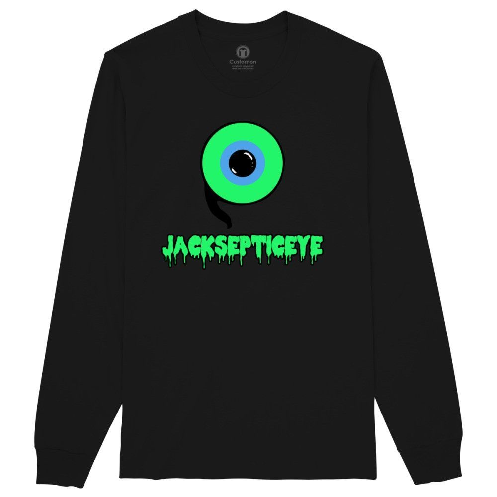 Jacksepticeye Youtuber Long Sleeve T-shirt