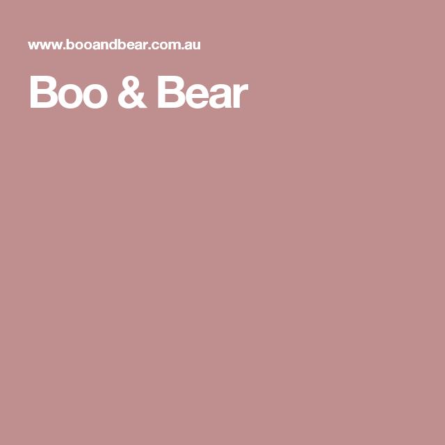 Boo & Bear