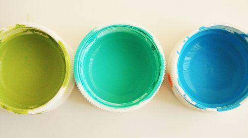 ..le voglio tutte! #green #verde #color #turchese #turquois #azzurro #blue