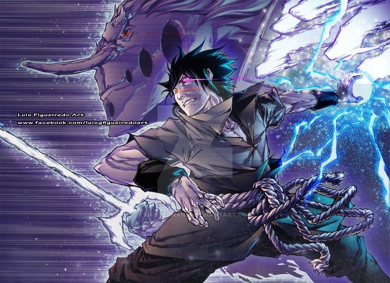 Rinnegan Sasuke Commission By Marvelmania Deviantart Com On