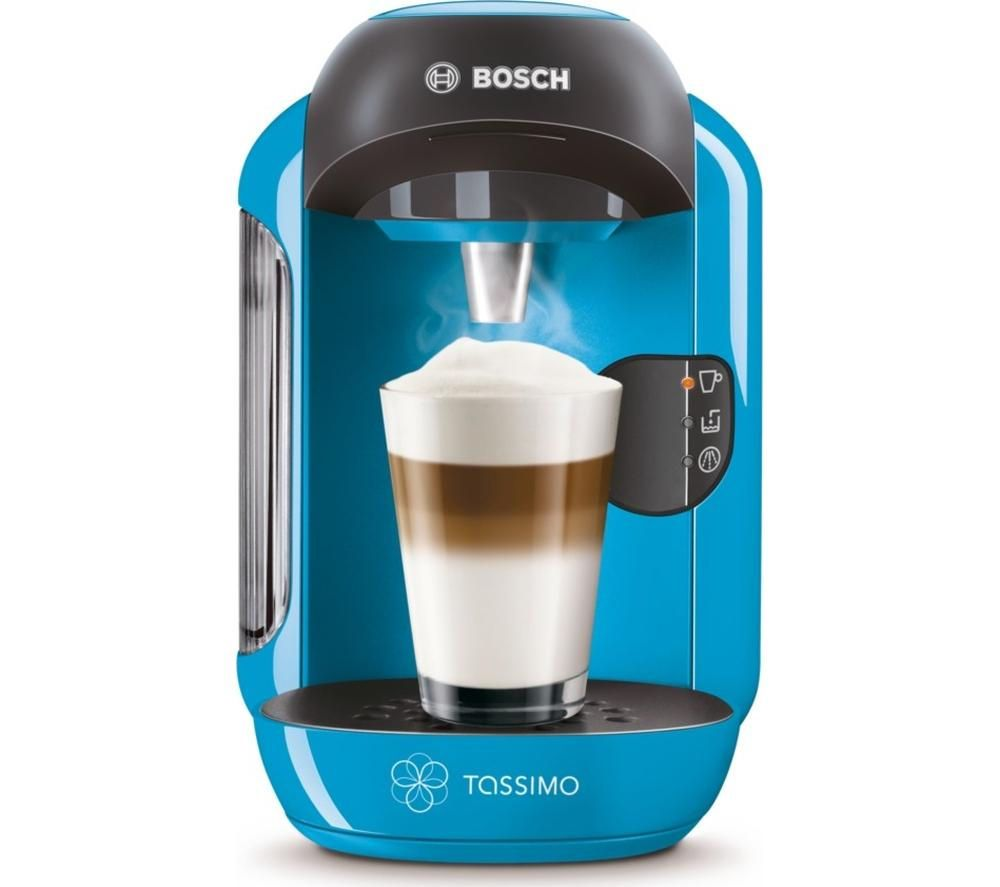 BOSCH Tassimo Vivy II TAS1255GB Hot Drinks Machine - Blue, Blue on ...