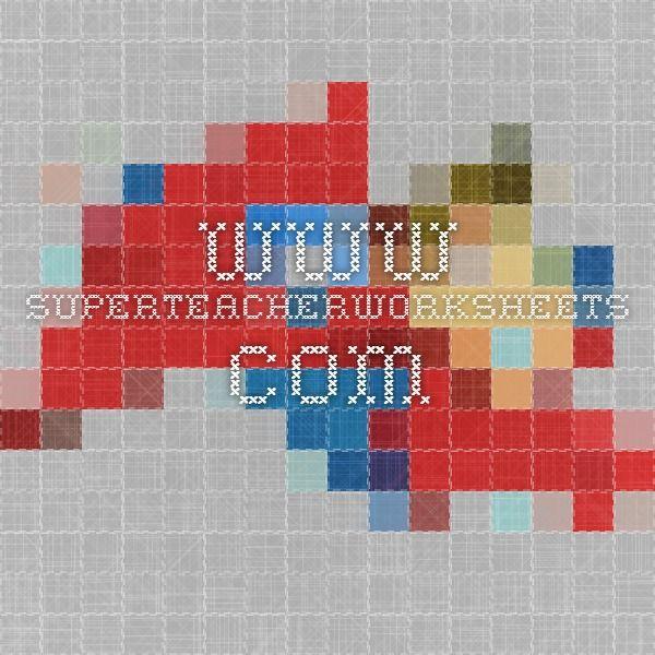 Superteacherworksheets Landform Worksheet Httpwww