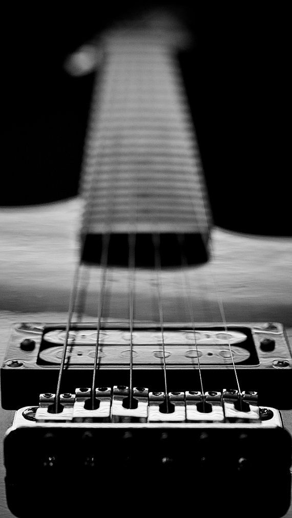 Guitar In Black And White Iphone5 Wallpaper By Ericzieglerphoto Music Photography Photography Music Print