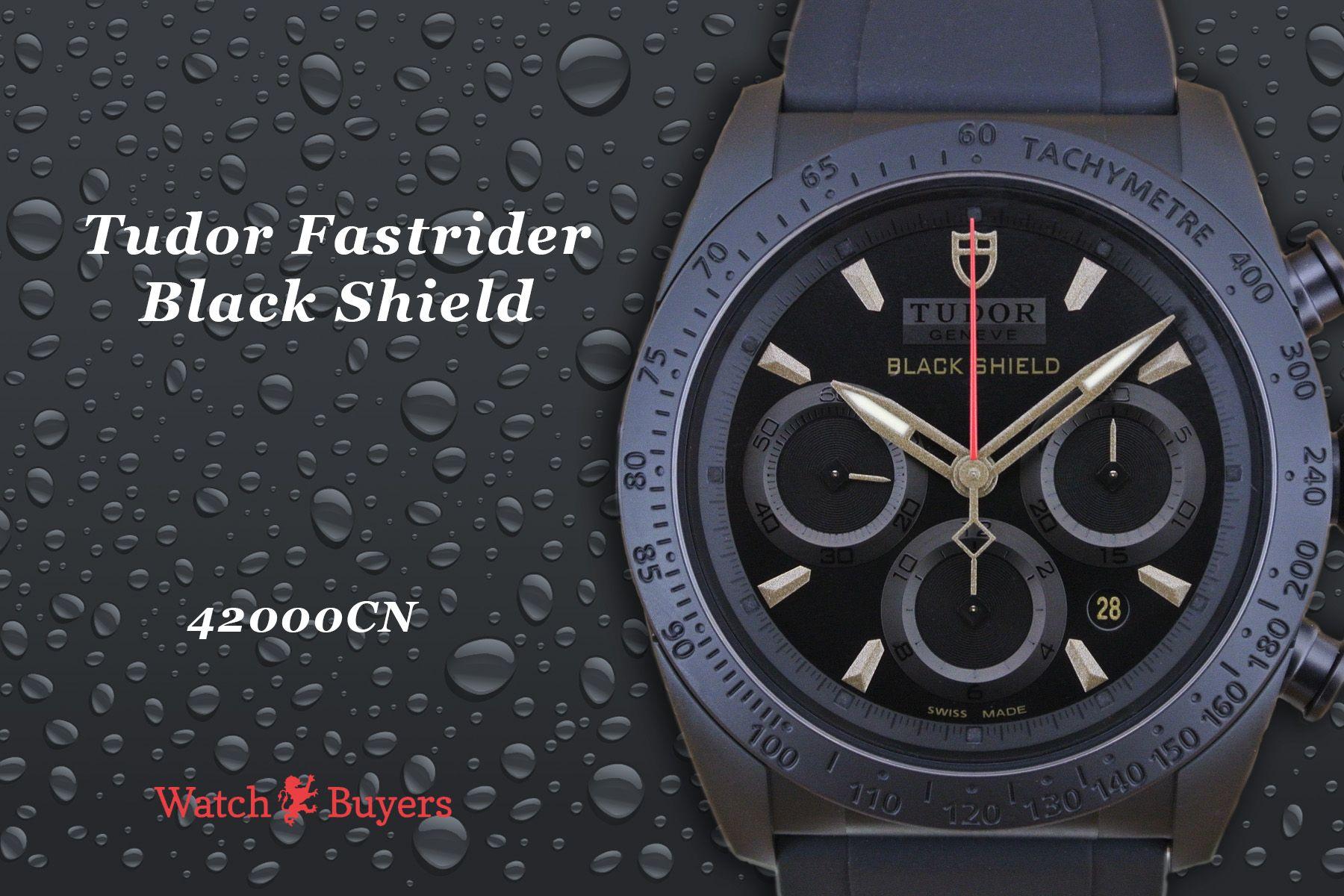 Tudor Fast Rider Black Shield