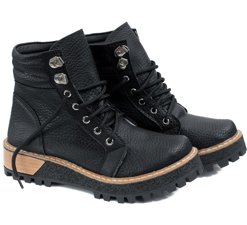84a6bc962e8 Borcegos con textura y plataforma combinada Botas Cortas Mujer, Zapatillas  Mujer, Calzado Mujer,