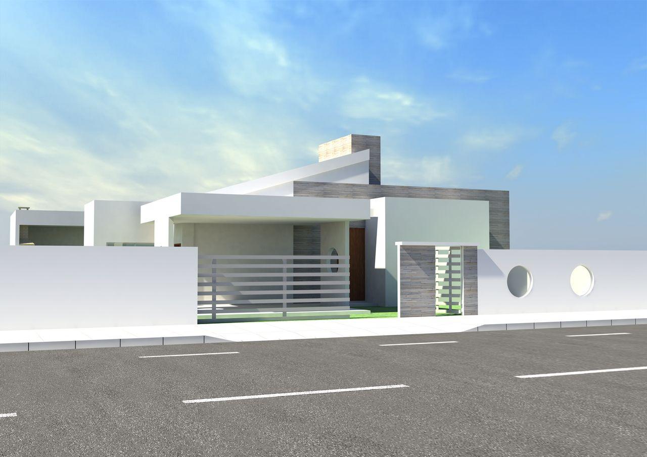Fachada de casas modernas geminadas ptaxdyndnsorg for Casa moderna 8