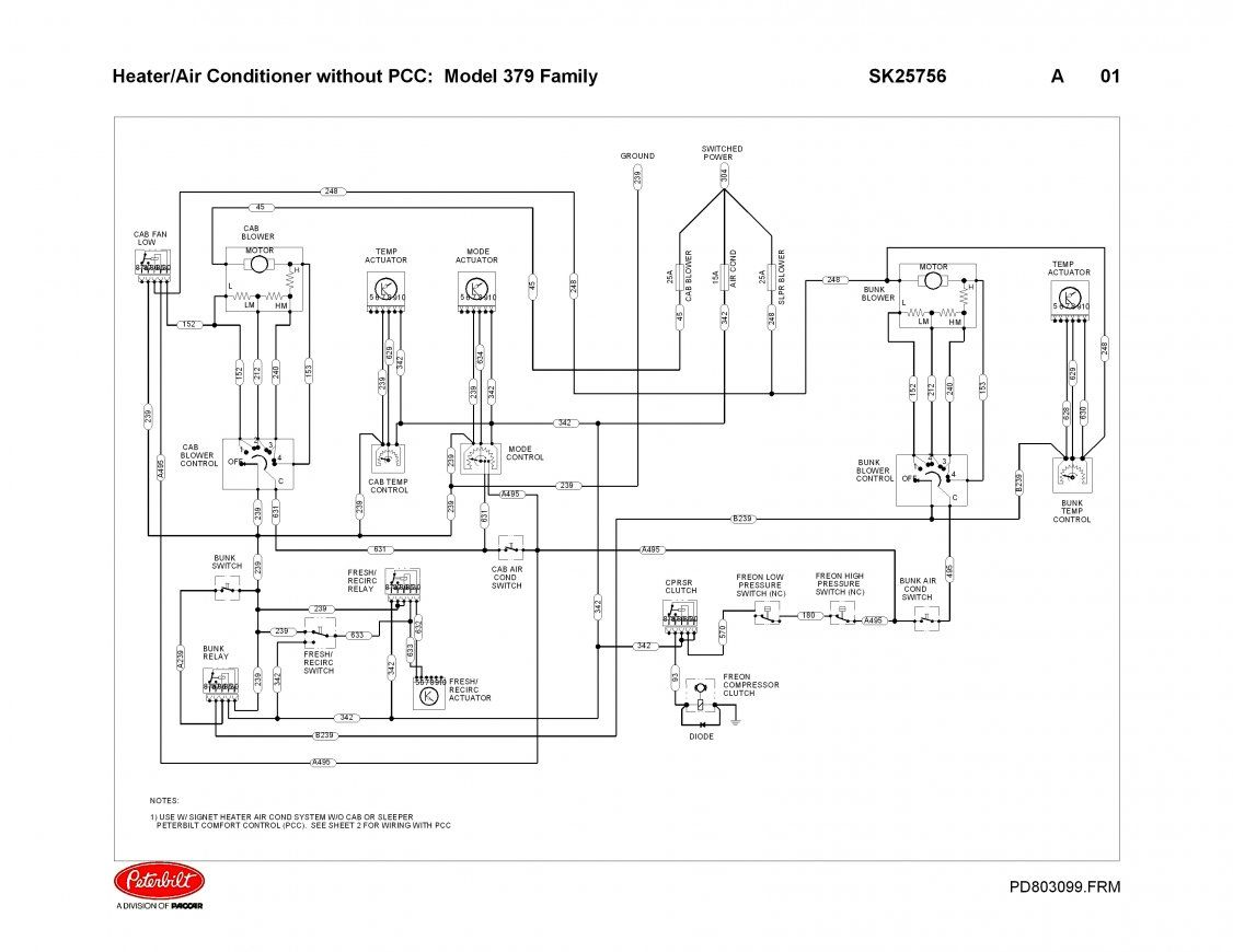 252a0 Truck Peterbilt 379 Wiring Diagram