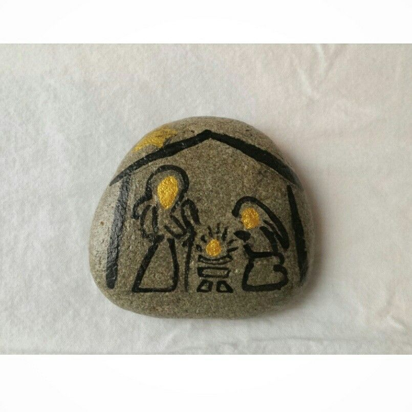 #Nacimiento #paintedstones