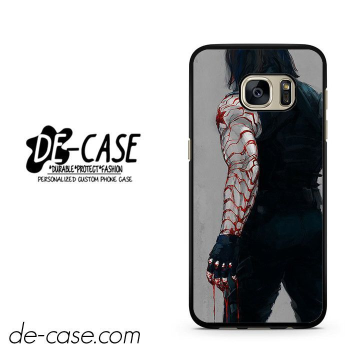 Bucky Is Winter Soldier DEAL-2167 Samsung Phonecase Cover For Samsung Galaxy S7 / S7 Edge
