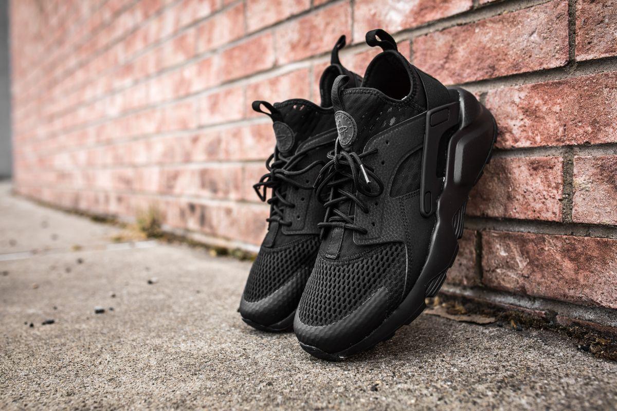 The Versatile Nike Air Huarache Ultra BR In Black • KicksOnFire ...