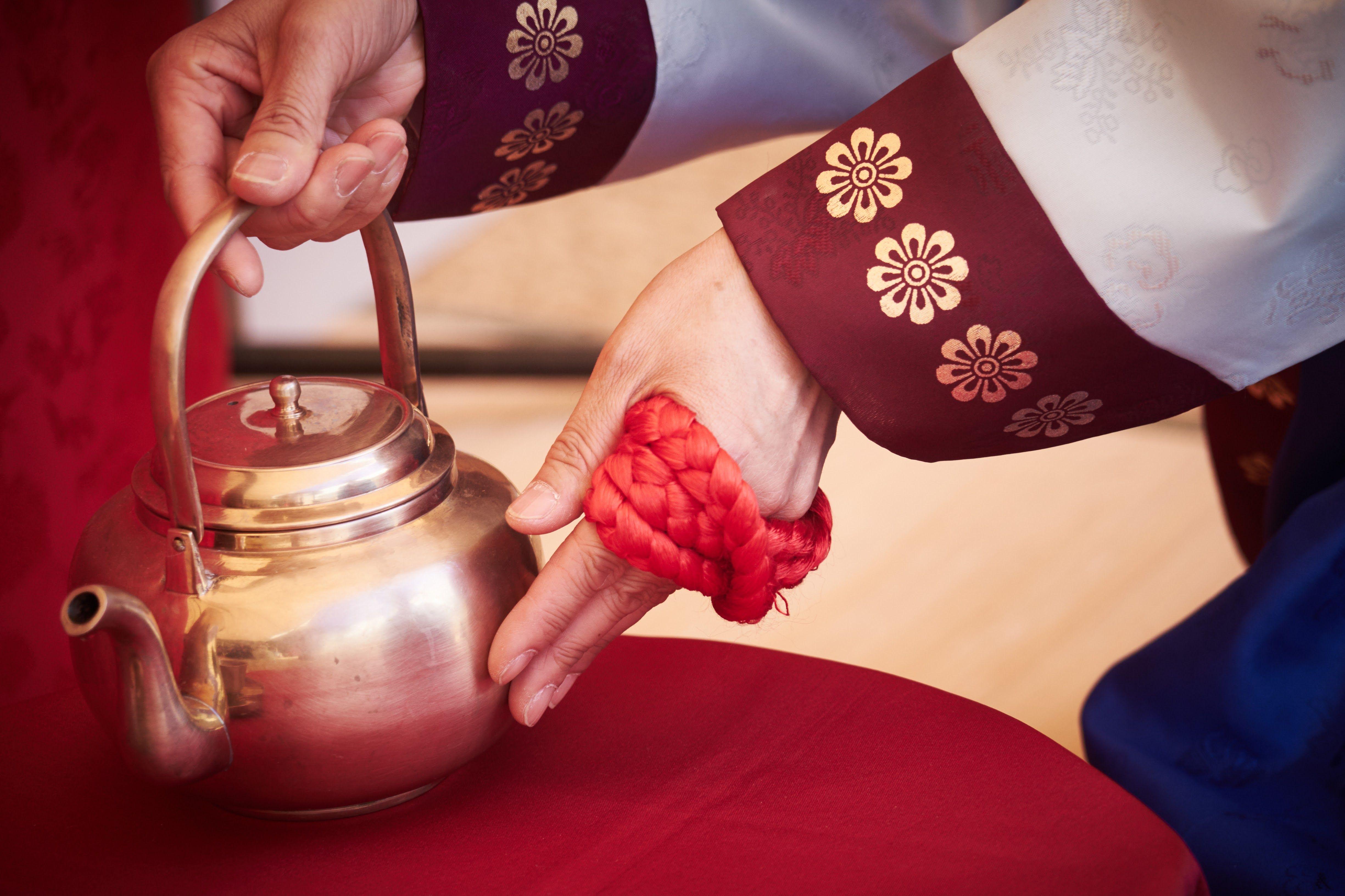 전통 혼례 - 합근지례(合巹之禮)