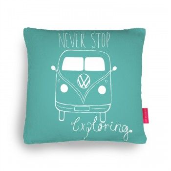 My hand illustrated Campervan Cushion  Please view this item and share/like to help boost my views in the #pillowfight competition on http://ohhdeer.com/competition/campervan-cushion-cushion  thank you!!