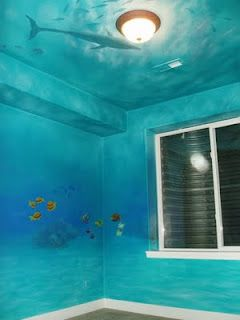 Nursery Murals Denver Childrens Murals Kids Room Murals Ocean Themed Bedroom