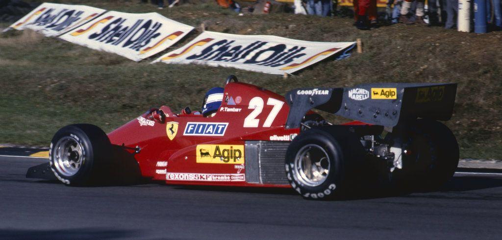 patrick tambay | patrick tambay (europe 1983) | ferrari f 1