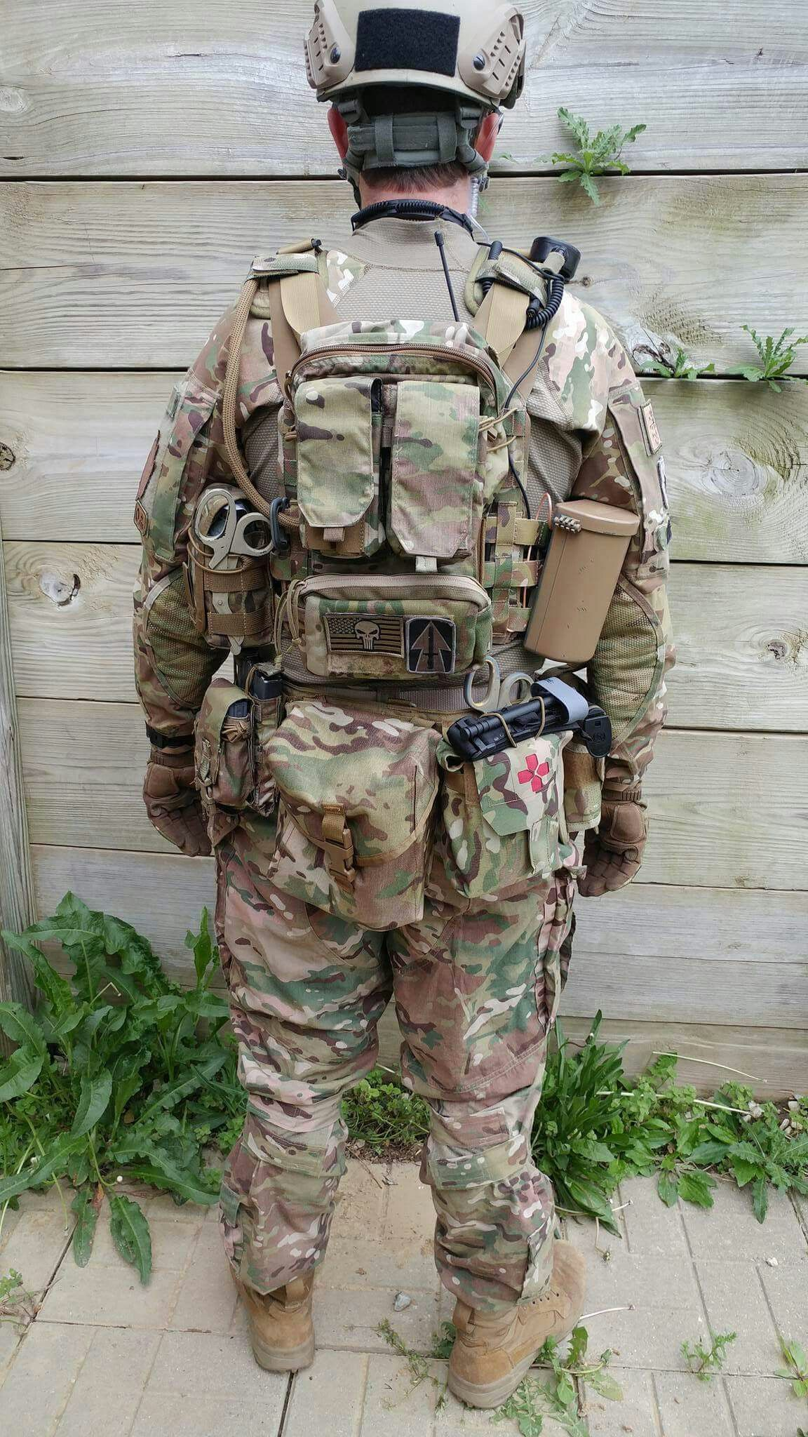 Crye JPC Plate Carrier Plate carrier setup, Military gear