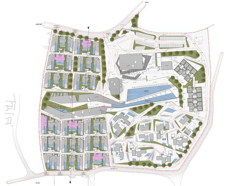 Santorini Resort Projects Divercity Architects Architecture