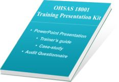 OHSAS 18001 – Occupational Health & Safety Auditor Training and its