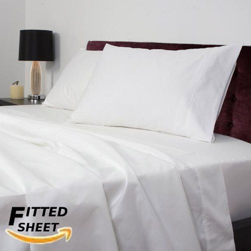 Utopia Bedding Twin Fitted Sheet 200 Thread Count 100 Cotton White Utopia Bedding Luxury Bed Sheets Bed Sheet Sets Full Bed Sheets